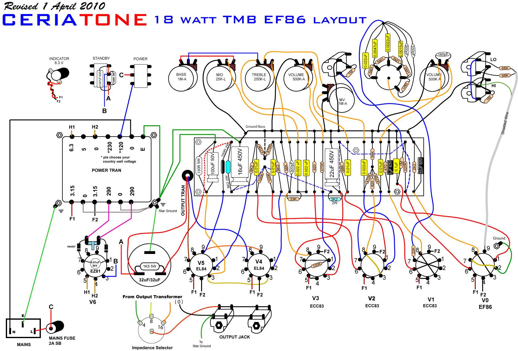 18 Watt TBM EF86