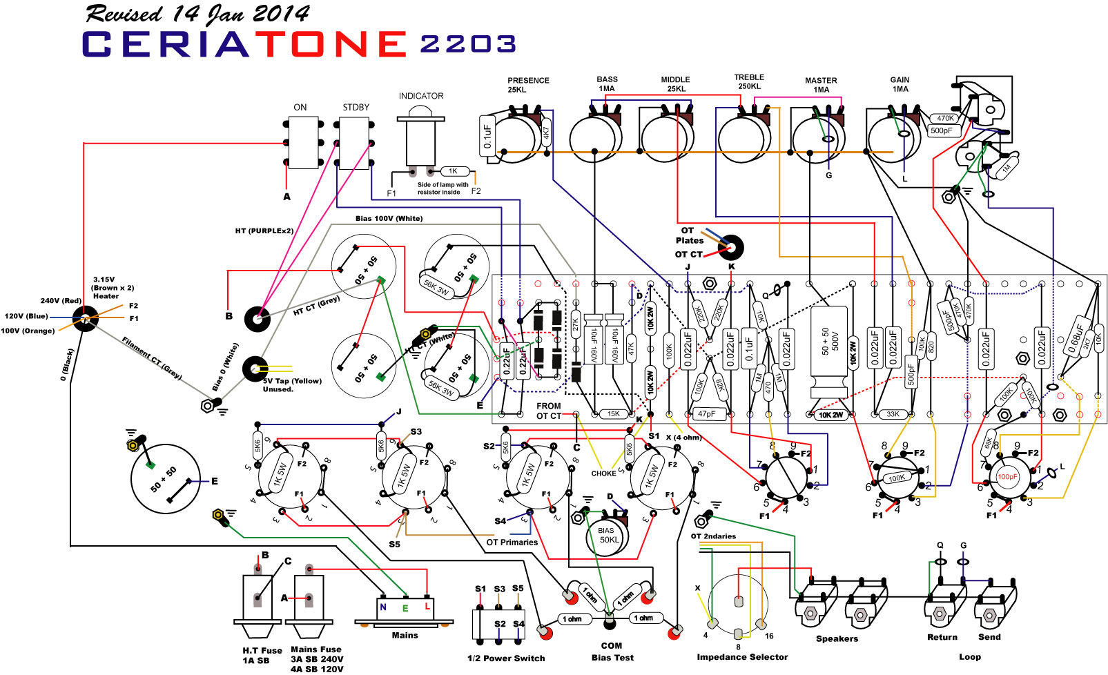 2203 ceriatoneusa manuals and layout diagrams Marshall 2204 Kit at n-0.co