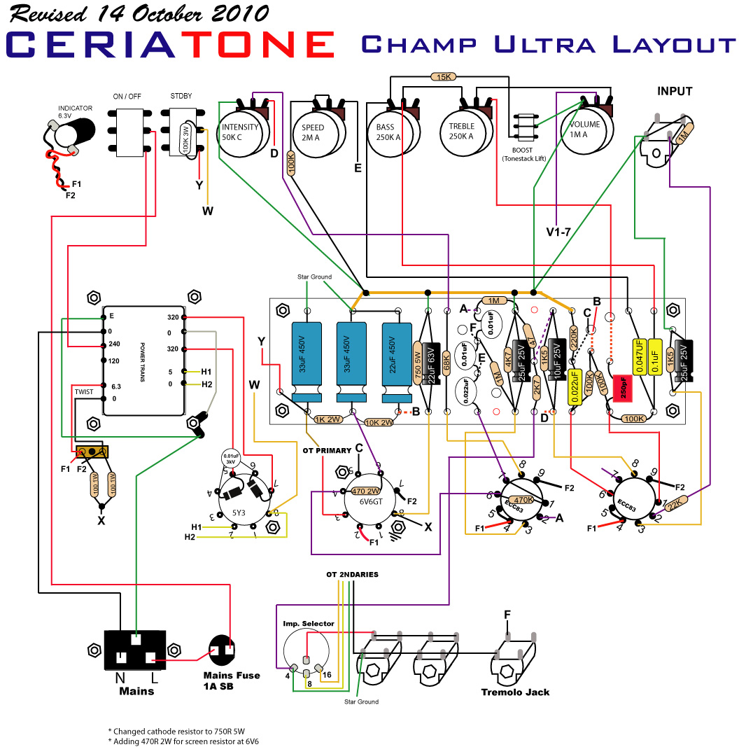 Ceriatoneusa Manuals And Layout Diagrams Fender Bassman 5f6 Tweed Guitar Effect Schematic Diagram Champ Ultra