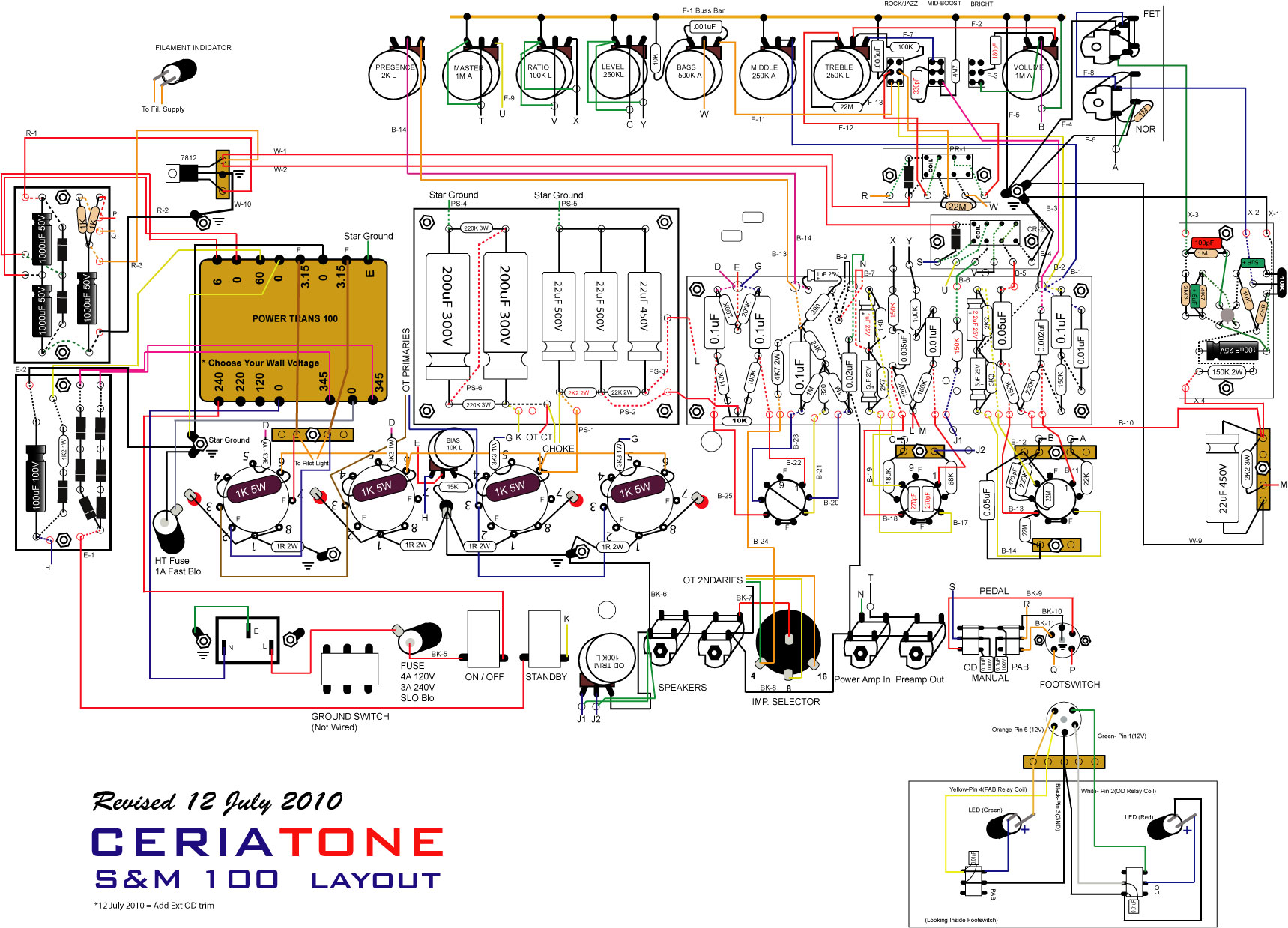 WRG-8765] Dumble Amp Wiring Diagram